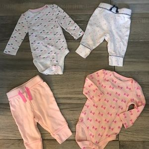 Baby Girl Outfit Lot Size 3-6 Months